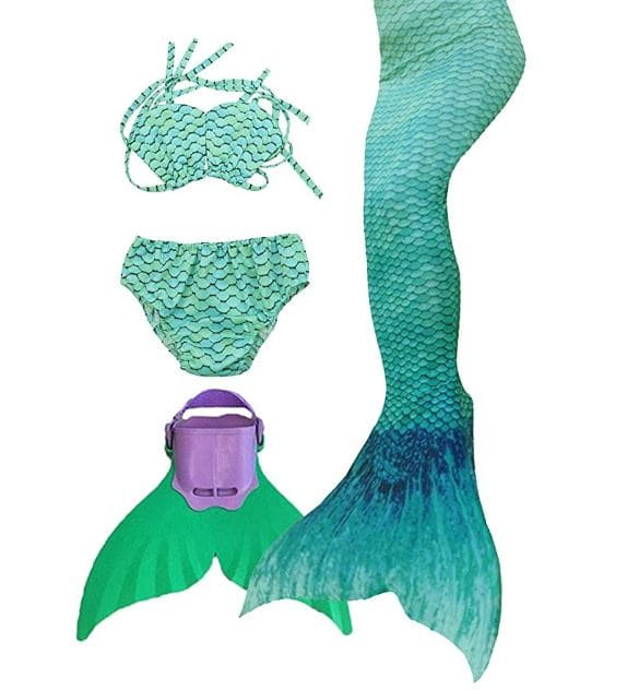 SPEEDEVE Meerjungfrauenschwanz